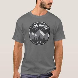 T-shirt Long hiver - logo T