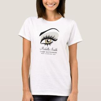 T-shirt Long marquage à chaud de société d'extension de