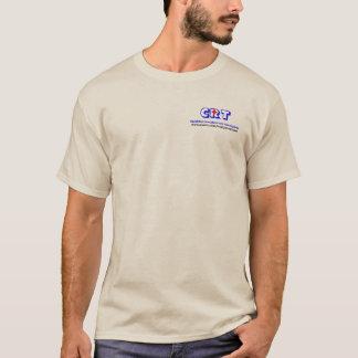 T-shirt Long tee - shirt de base de tube de douille