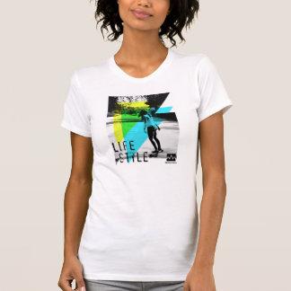 T-shirt Longboard sera girl