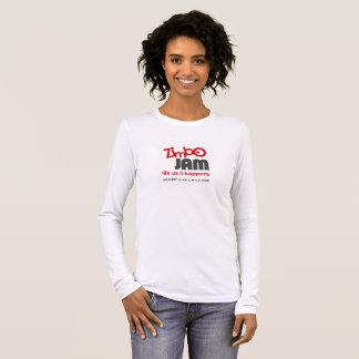 T-shirt longtemps gainé de confiture de Zimbo
