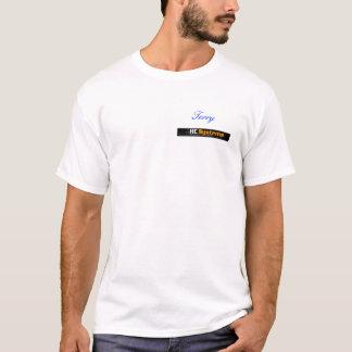 T-shirt Longue chemise personnalisée de Hcs de douille