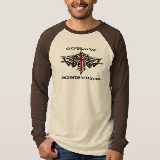 T-shirt Longue douille proscrite de ministères (hommes)