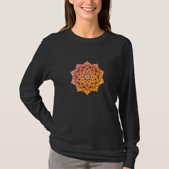 T-Shirt Longue manche chakras psychédélique