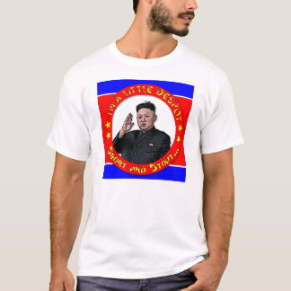 T-shirt L'ONU de Kim Jong - je suis un petits despote,