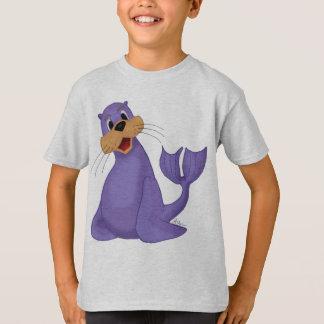 T-shirt L'otarie de sourire badine la chemise
