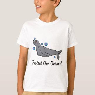 T-shirt L'otarie protègent nos océans