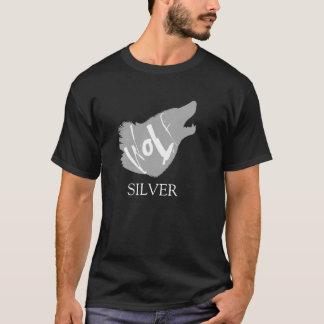 T-shirt Loup argenté