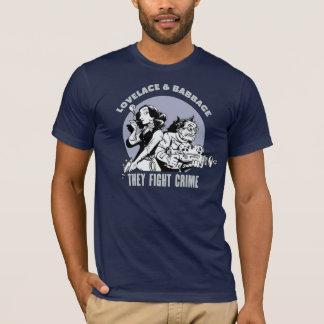 T-shirt Lovelace et Babbage : Ils combattent le crime