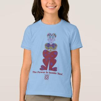 T-shirt Lovelle (TM) la puissance est à l'intérieur de