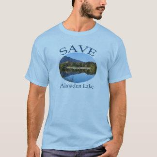 T-shirt lt hommes bleus petits