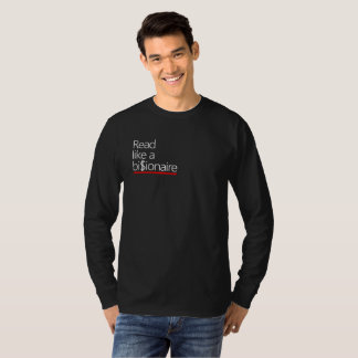 T-shirt Lu comme une chemise de milliardaire