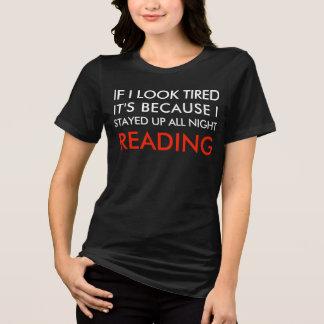 T-shirt Lu toute la nuit