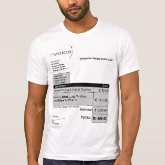 T-shirt Lumière d'informaticien