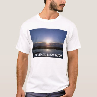 T-shirt Lumière lumineuse, Long Beach, Washington