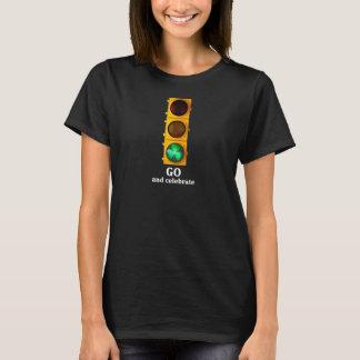 T-shirt Lumière originale de feux de signalisation de jour