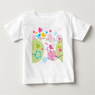 T-shirt lunatique de nourrisson de jardin