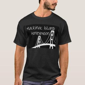 T-shirt Lune de miel d'île de Mackinac