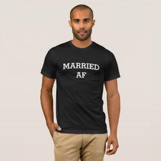 T-shirt lune de miel mariée d'af