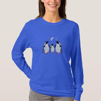 T-shirt Lune de pingouin