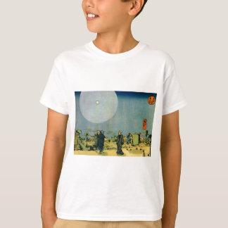T-shirt Lune par Utagawa Kuniyoshi