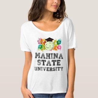 T-shirt L'université la plus fine dans Mahina, Hawaï