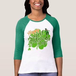 T-shirt Lutin heureux du jour de Patrick de saint