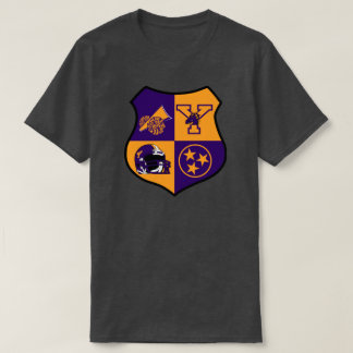 T-shirt LYCÉE Jamestown Tennessee d'institut de York