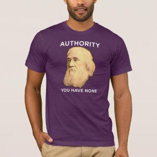 T-shirt Lysander Spooner aucune autorité
