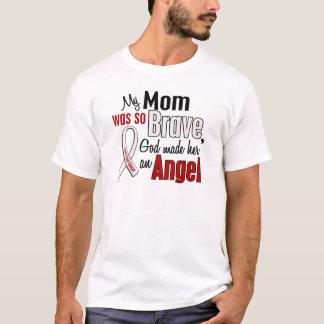 T-shirt Ma maman est un cancer de poumon d'ange