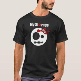 T-shirt Ma TÊTE d'USB de stockage