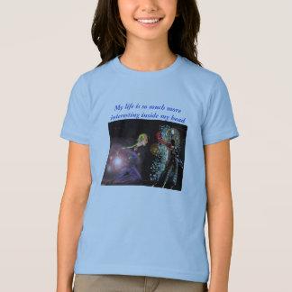 T-shirt Ma vie est tellement un intérieur plus