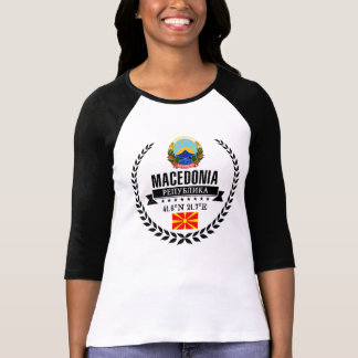 T-shirt Macédoine