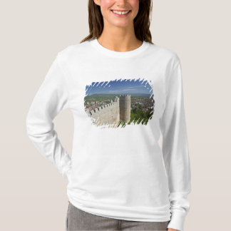 T-shirt MACÉDOINE, Ohrid. Le château de Samoil de voiture/
