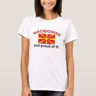 T-shirt Macédonien fier