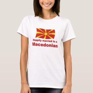 T-shirt Macédonien heureusement marié