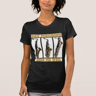 T-shirt Machine de saxo