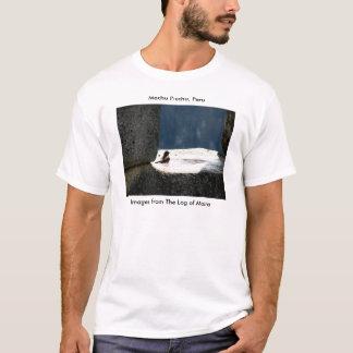 T-shirt Machu Picchu, Pérou, vasque dans la fenêtre en