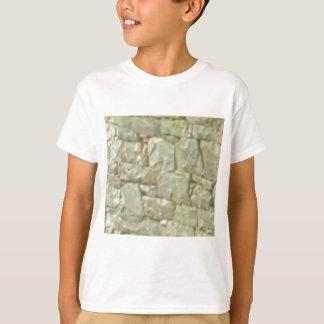 T-shirt maçonnerie en pierre blanche