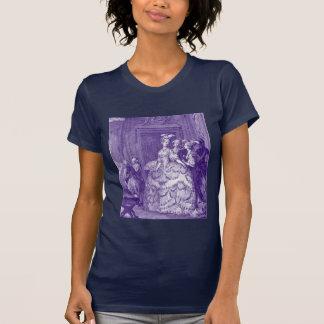 T-shirt Madame dans l'attente à Marie Antoinette