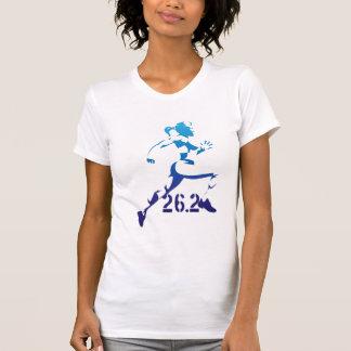 T-shirt Madame de marathon