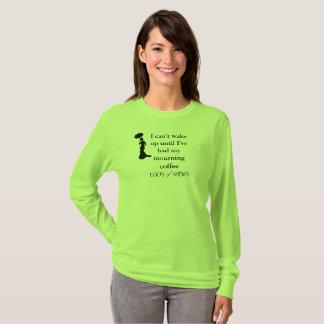 T-shirt Madame de pièce en t de dames de cendres -