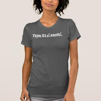 T-shirt Madame ennuyeuse Tank (noir) de mouvement