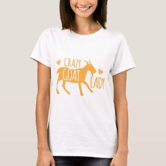 T-shirt Madame folle de chèvre
