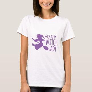 T-shirt Madame folle de sorcière