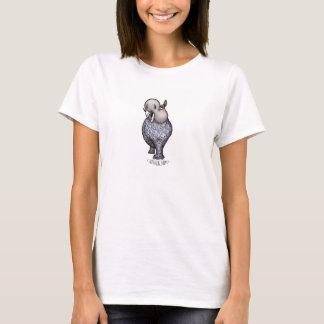 T-shirt Madame Laura d'hippopotame de passerelle