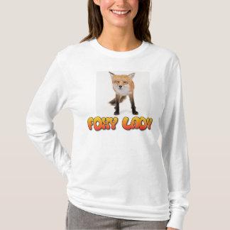 T-shirt Madame rusée
