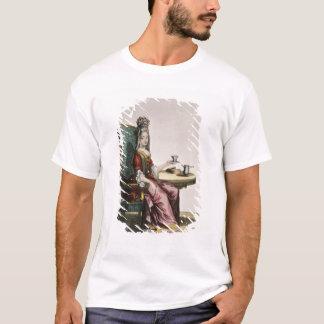 T-shirt Madame Taking Coffee, plat de mode, c.1695