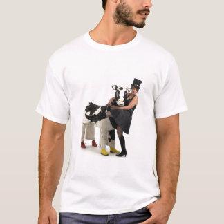 T-shirt Madame Vinaigrette et Martiqua la vache