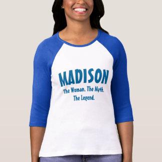 T-shirt Madison la femme, le mythe, la légende